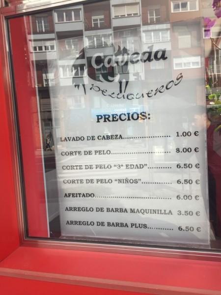 Peluquería Barbería Cavedap
